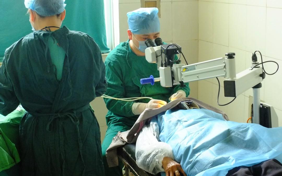 Scan Optics success at the GuiYang YangMing Eye Hospital