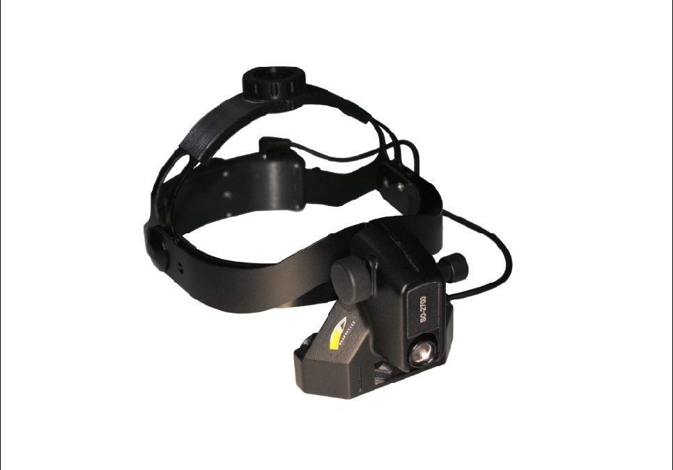 Lightweight Head Mount Indirect Ophthalmoscope